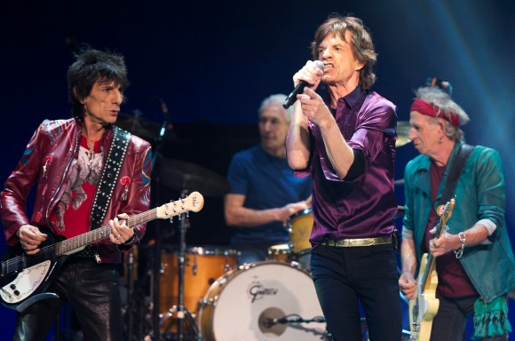 Mick Jagger, Charlie Watts, Keith Richards, Ronnie Wood